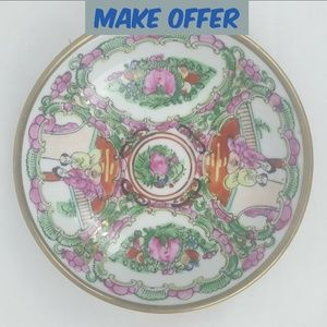 "⬇ Oriental Chinese 5.5"" Decorative Porcelain Plate"